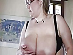 Milf big natural boobs...