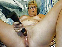 webcam, granny, mature