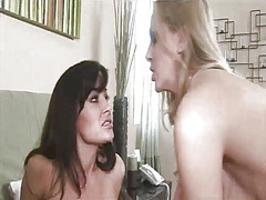 Hot lesbian milf?s eat... video
