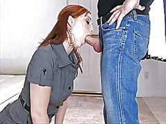 Ginger chick gains a s... video