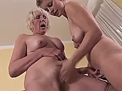 mature, blonde, granny