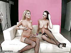 PinkRod Movie:Blonde does dirty things with ...