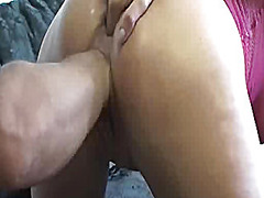 Extremely brutal vaginal fist fucking...