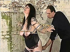 Xhamster Movie:Plumper slave tortured with ne...