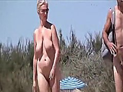 Spy Beach Movie Of Undressed Older Couples Making Sex