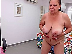 granny, striptease, webcam, mature