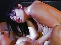 Tube8 Movie:Teen lesbians playing