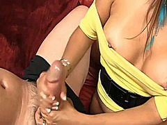 Milf handjob #8 impreg... video