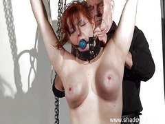 slave, scene, domination, punishment
