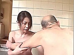 Xhamster Movie:Playing with grandpa