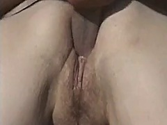 Granny gets fucked outdoors