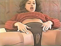 Czech stocking beauty 2 from Xhamster
