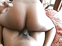 Black babe gets fucked... video