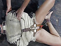 Ah-Me Movie:Gagged and tied up girl gets h...