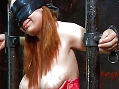 Ah-Me Movie:Bounded and terrified honey re...