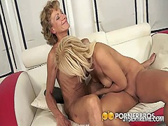 eating, pussy, blonde, lick, hair,