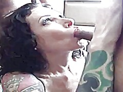 group, gangbang, tattoo, facial, cumshot,