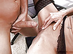 Mature boss fuck in stockings - 31:26
