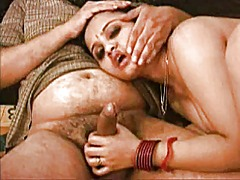 Hot desi babe making h... video