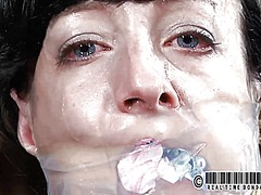 Gagged angel receives ... preview
