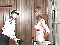Strip searched by the ... video