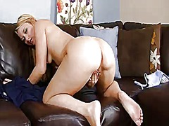 Hotshame Movie:Blonde asian shelby paige gets...