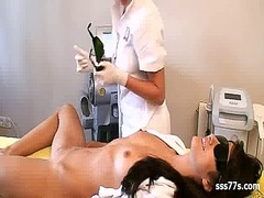 Tube8 Movie:Demonstration laser epilation ...