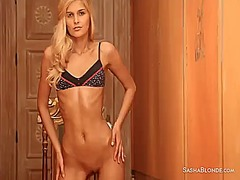 Hotshame Movie:Sasha touches her pussy and me...