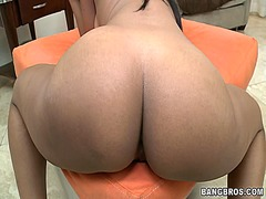 Charming beauty gets w... video