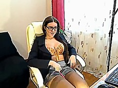Czech secretary finger... video