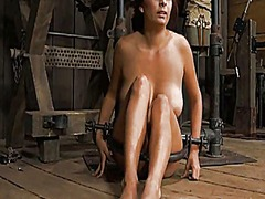 Tied up slave receives... preview