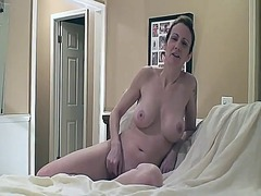 Naughty wife with big boobs