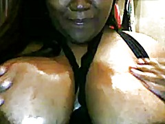 Thumb: Big black ass and tits