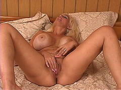 mature, toys, toy, blonde, big boobs