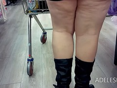 Upskirt round tesco by... preview