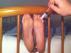 Xhamster Movie:Tickling my girlfriend feet in...