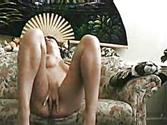 Cutie in living room r... video