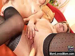 Two mommy amateur mada...