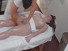 Thumb: Oil massage and fucking