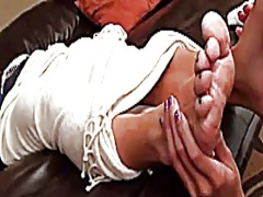 Danica worships hot feet