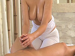 Thumb: Massage rooms brunette...