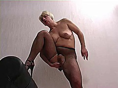 Thumb: Pantyhose masturbation...