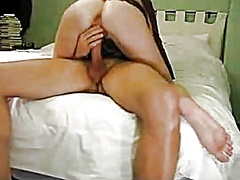 rubbing, cowgirl, riding, wife, pussy