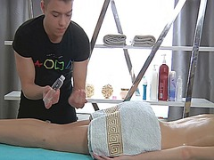 Sensual oil massage ma... video