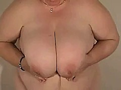 Xhamster Movie:Big tit grandma playing (part 1)