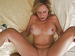 cumshot, close-up, cougar,