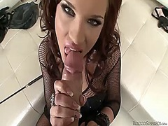 Angel rivas enjoys rocco siffredis love wand in her mouth in wild oral action