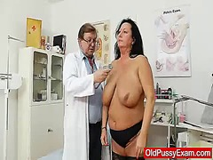 mature, shot, clinic, doctor, vagina