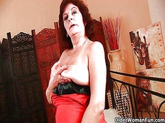 Highly sexed granny ne... video