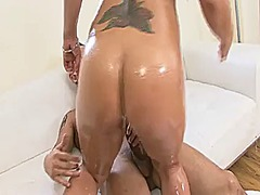 Cougar pawg gets asian... video